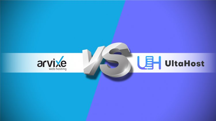 Comparison Between Arvixe vs UltaHost Web Hosting Providers