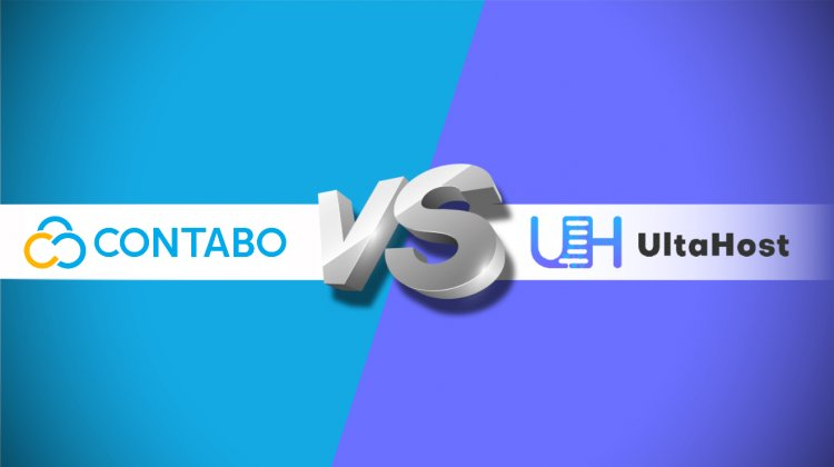 Comparison between UltaHost vs Contabo Web Hosting Providers