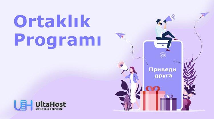 UltaHost Ortaklık Programı Şimdi Kayıt İçin Açık
